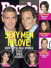 COVER STORY SNEAK PEEK: Clooney & McConaughey's New Romances