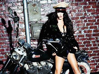 PEOPLE's Britney-a-Day Countdown: Day 2, on a Motorcycle