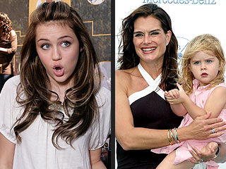 Brooke Shields's Daughter: Jealous of Hannah Montana