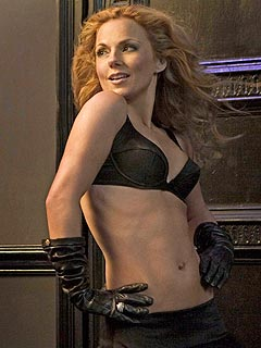 Abs of Spice! Geri Halliwell's Tummy Takes Center Stage
