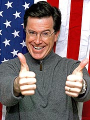 Stephen Colbert 'Shocked' by Blocked Presidential Bid