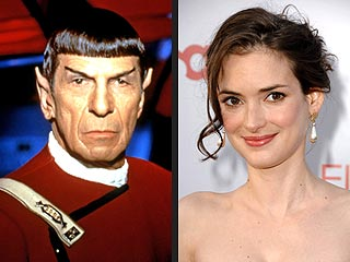 Winona Ryder to Play Spock&#39;s Mom in Star Trek Film