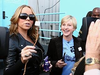 Ellen DeGeneres: Mariah Carey Smells Like S'mores