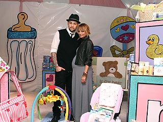 Nicole Richie, Joel Madden Shower 100 Moms with Baby Gifts