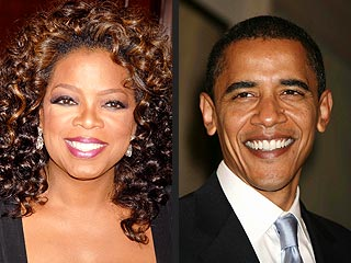 Oprah on Obama: 'I Cried My Eyelashes Off'