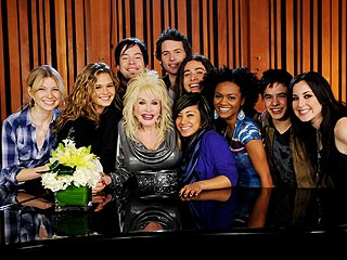Dolly Parton Comes to AmericanIdol