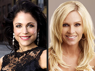 The Real Housewives of N.Y.C. and O.C.&nbsp;Catfight