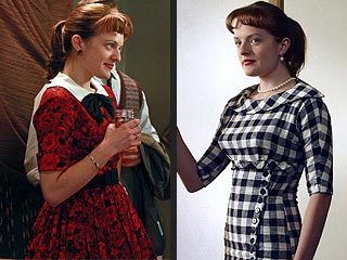 From Drab to Fab: Mad Men's Peggy Olson Steps Up Her Style