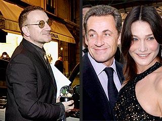 Sarkozy & Bruni Get a Celebrity Guest