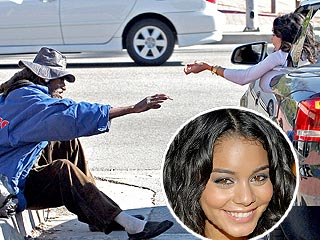 Vanessa Hudgens Extends a Helping Hand