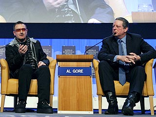 QUOTED: Bono Confesses His Eco-Sins to Al Gore