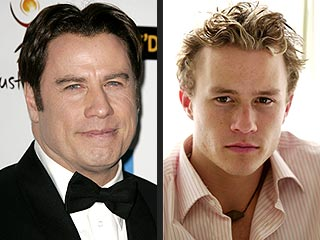 John Travolta Calls Heath Ledger an Inspiration