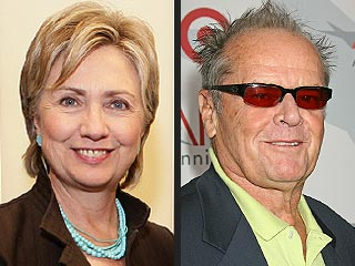 Jack Nicholson Backs Hillary, Scarlett Sings for Obama