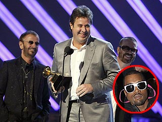 New Music Rivalry: Kanye West and ... Vince Gill?!