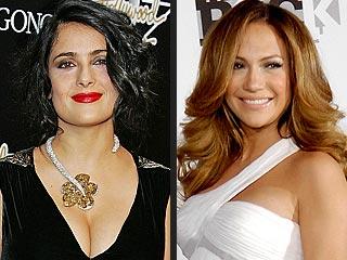 Celebrity Well-Wisher Alert! Salma Hayek Sends Jennifer Lopez Her Best