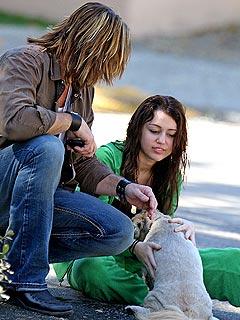 Miley Cyrus's Puppy Rescue!