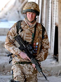 Prince Harry Heads Home From War Zone