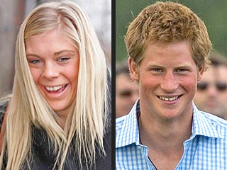 Prince Harry & Chelsy Davy's Night Out in London