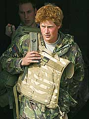 Prince Harry Returns to England from War Zone
