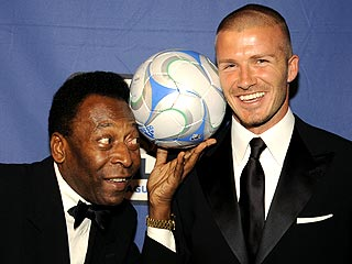 David Beckham Pays Tribute to Legendary Pelé
