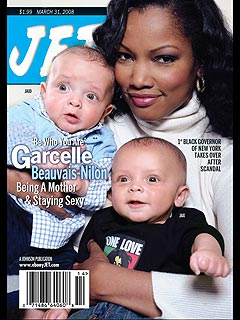 Garcelle Beauvais-Nilon Shows Off Her Twins