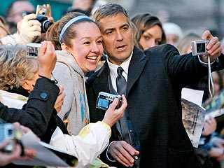 Clooney Takes Red Carpet Home to Kentucky