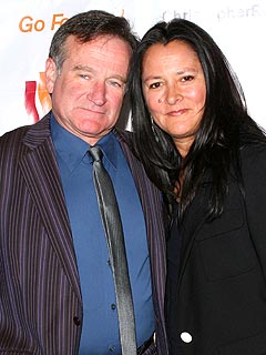 Robin Williams's Wife Files for Divorce