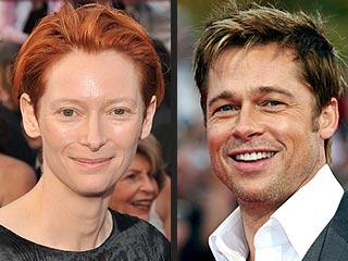 Brad Pitt's Reverse Aging Amazes Tilda