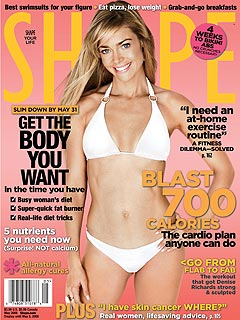 Denise Richards: No Weight-Loss Talk in Front of Daughters