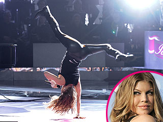 Fergie: Still Not Pregnant – and Cartwheels Prove It