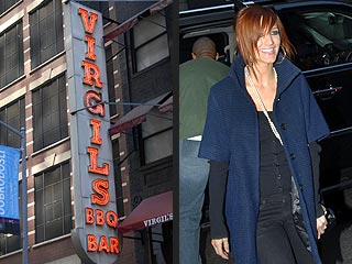 Ashlee Simpson: Eating for Two in New York