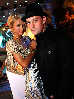 Paris Hilton Making Music with Benji Madden