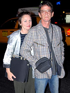 Lou Reed and Laurie Anderson Wed