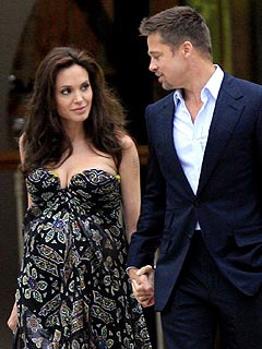 Brad & Angelina's Star-Studded Dinner Date