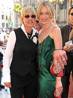 Ellen Gives Portia Pink Diamonds for 'Dream Wedding'