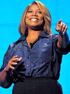 Queen Latifah Achieves Weight-Loss Goal