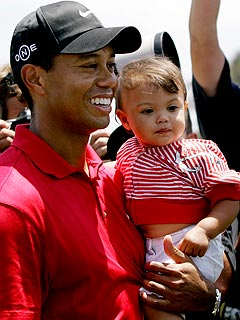 Tiger Woods & Wife Elin Welcome a Baby Boy!