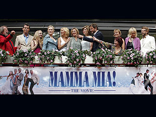 ABBA Reunites for Mamma Mia!