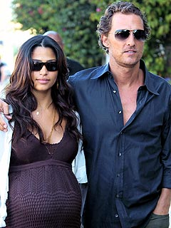 Matthew McConaughey and Camila Alves Have a Boy