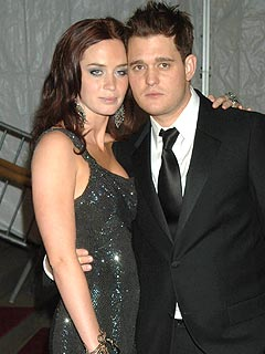 Michael Buble Still Cries Over Emily Blunt Breakup