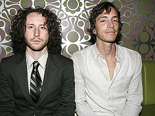Photo of Brandon Boyd & his friend  Mike Einziger