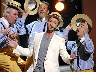 Justin Timberlake Does 'Great Job' at the ESPYs