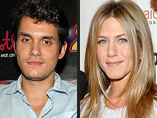 Jennifer Aniston Helps John Mayer Celebrate 31st Birthday
