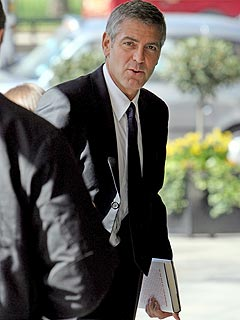 How Did George Clooney Break His Hand?