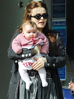 Helena Bonham Carter Reveals Her 7-Month-Old's Name
