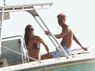 Prince William and Kate Middleton Enjoy Caribbean Splash