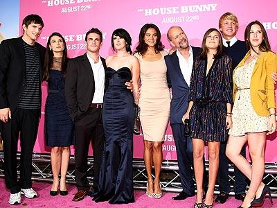 Rumer's Premiere Fan Club: Bruce, Demi and Ashton!