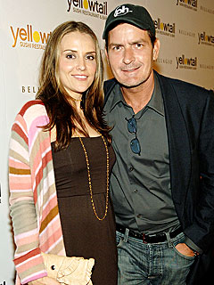 Charlie Sheen's Wife Hospitalized with Early Contractions