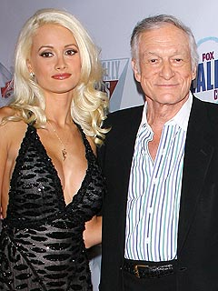 Hugh Hefner on Holly Madison: 'I Want Her to Be Happy'