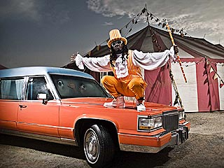 T-Pain's New Car: a Hearse